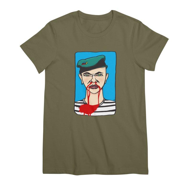 Flowing Women's Premium T-Shirt by leegrace.com