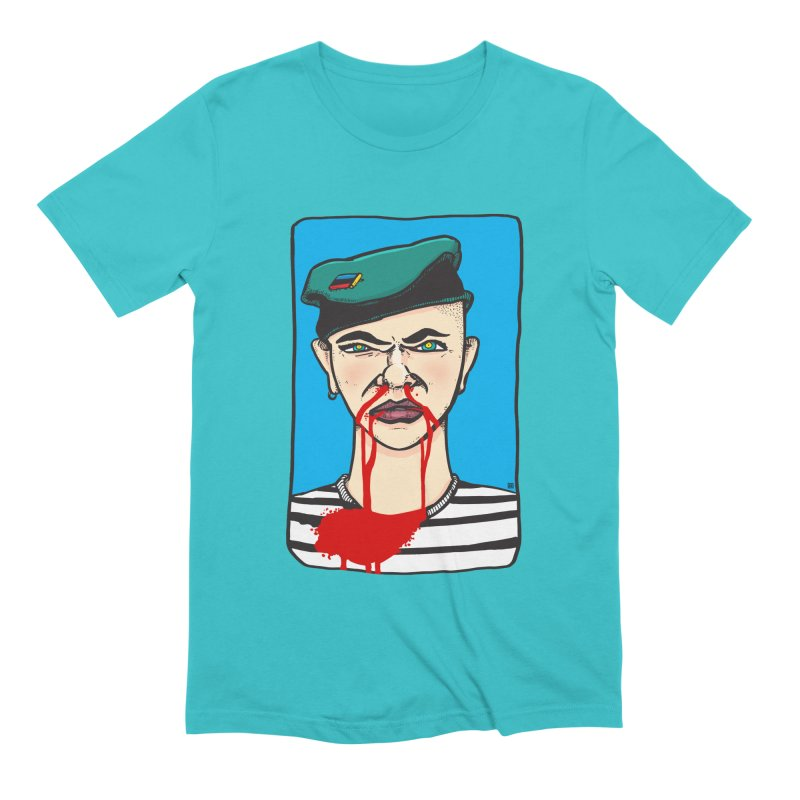 Flowing Men's Extra Soft T-Shirt by leegrace.com