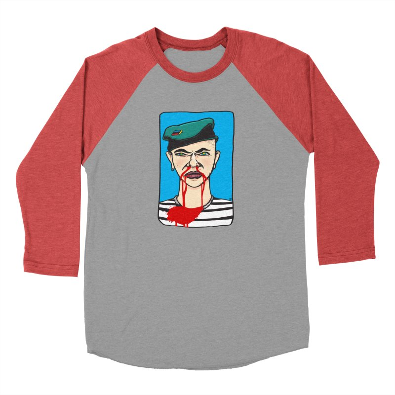 Flowing Men's Baseball Triblend Longsleeve T-Shirt by leegrace.com