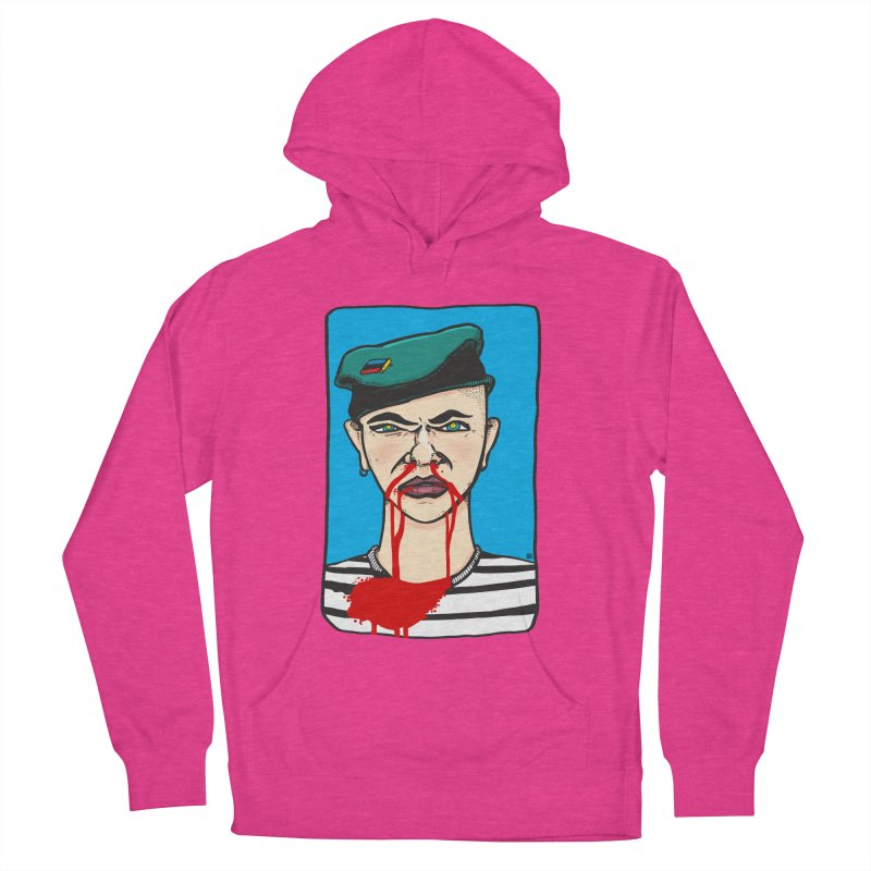 Flowing Men's French Terry Pullover Hoody by leegrace.com