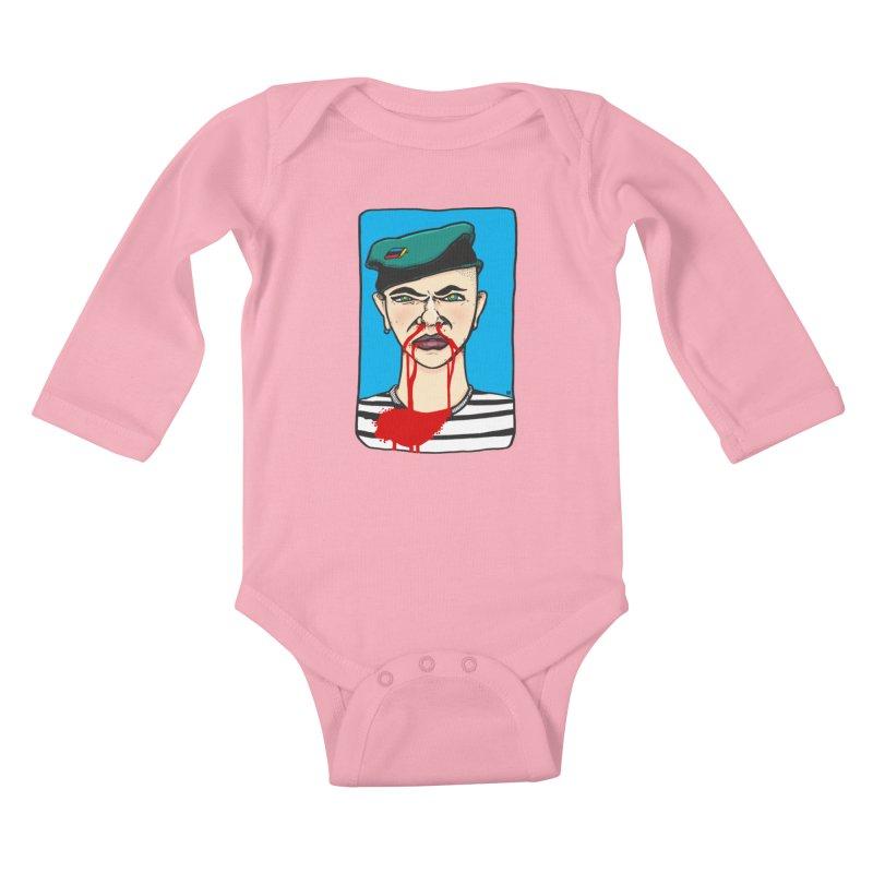 Flowing Kids Baby Longsleeve Bodysuit by leegrace.com