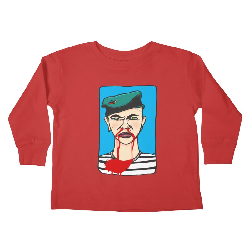Flowing Kids Toddler Longsleeve T-Shirt by leegrace.com