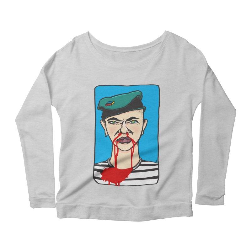 Flowing Women's Scoop Neck Longsleeve T-Shirt by leegrace.com