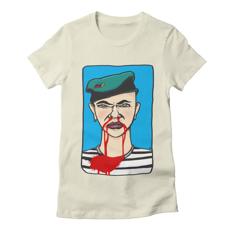 Flowing Women's Fitted T-Shirt by leegrace.com