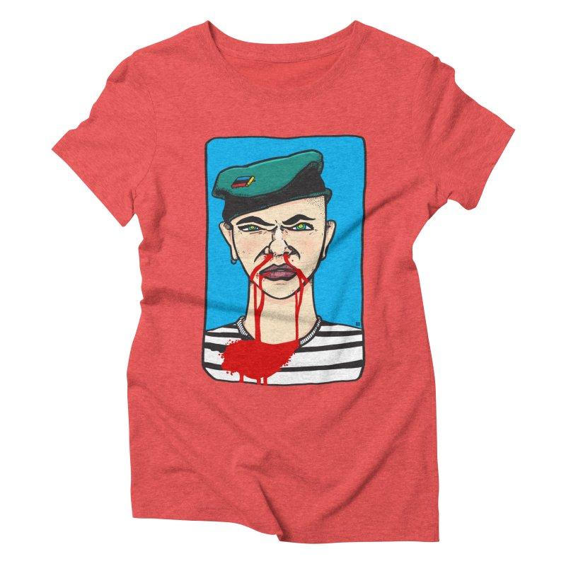 Flowing Women's Triblend T-Shirt by leegrace.com