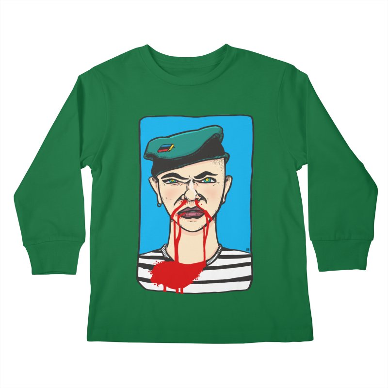 Flowing Kids Longsleeve T-Shirt by leegrace.com