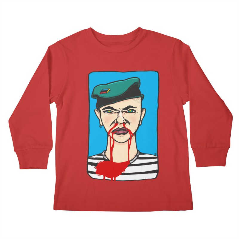 Flowing Kids Longsleeve T-Shirt by leegrace.com