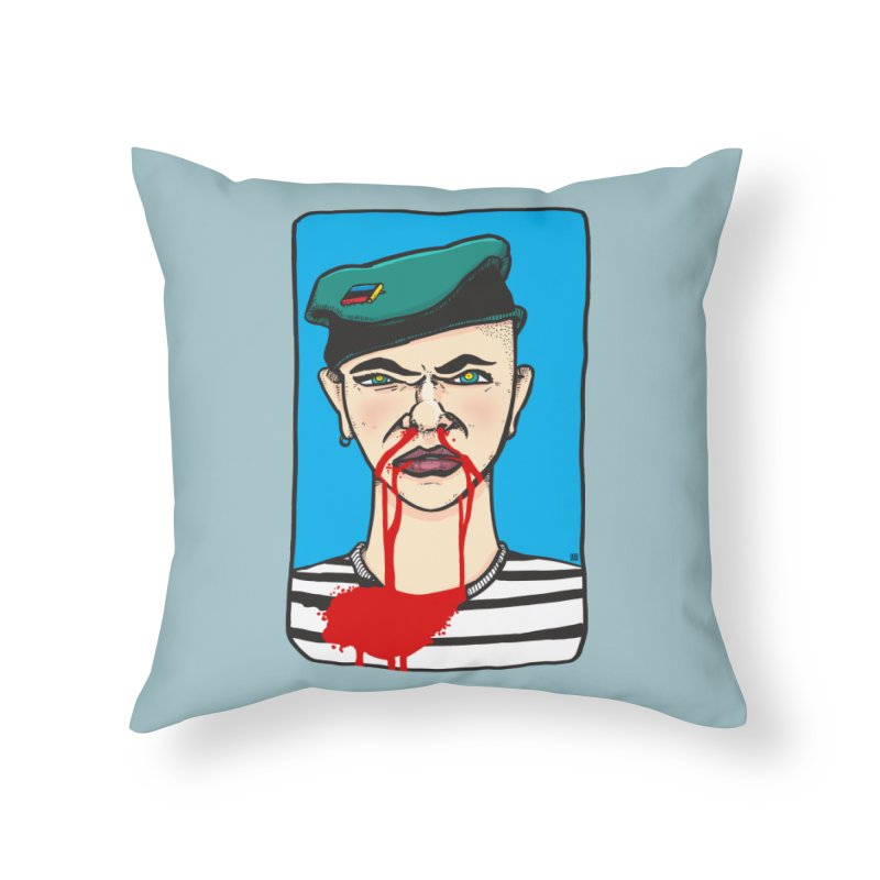 Flowing Home Throw Pillow by leegrace.com