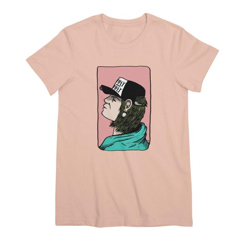 Clock Women's Premium T-Shirt by leegrace.com