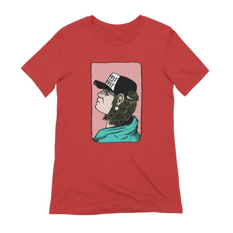 Clock Women's Extra Soft T-Shirt by leegrace.com