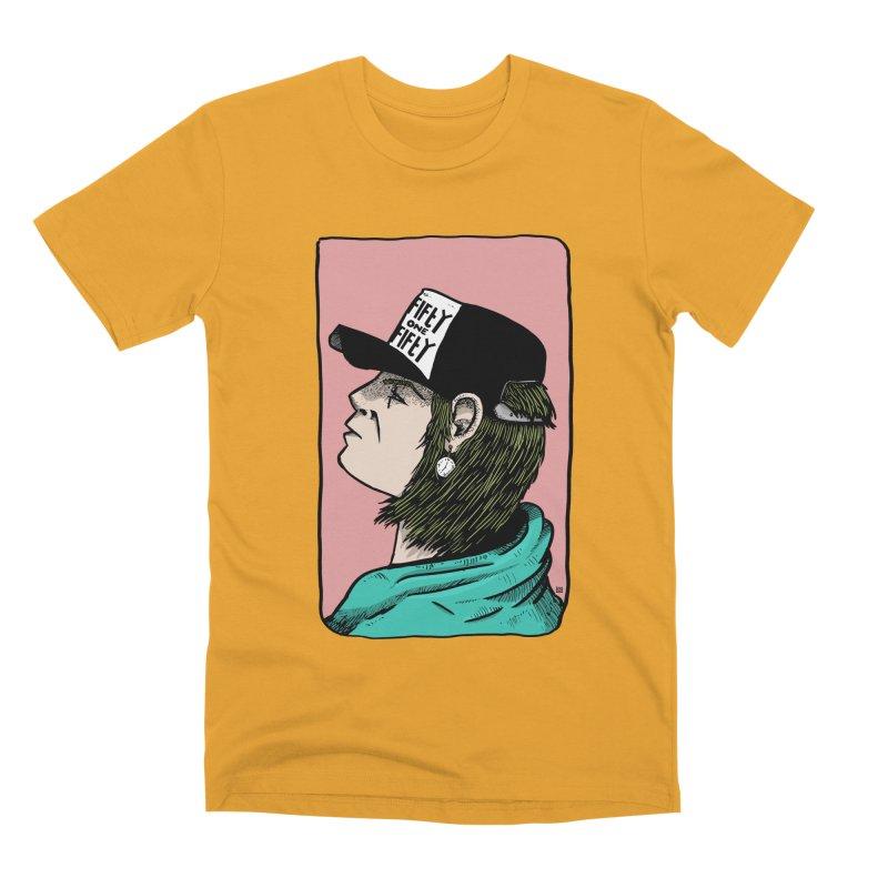 Clock Men's Premium T-Shirt by leegrace.com
