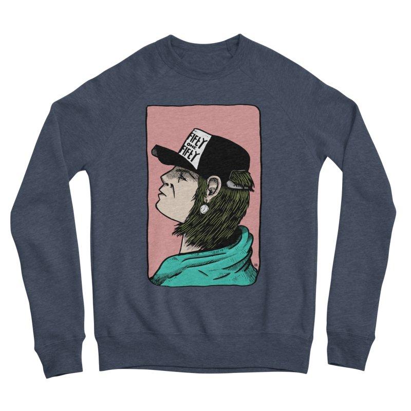 Clock Men's Sponge Fleece Sweatshirt by leegrace.com