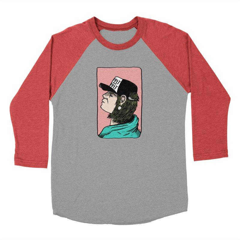 Clock Men's Baseball Triblend Longsleeve T-Shirt by leegrace.com