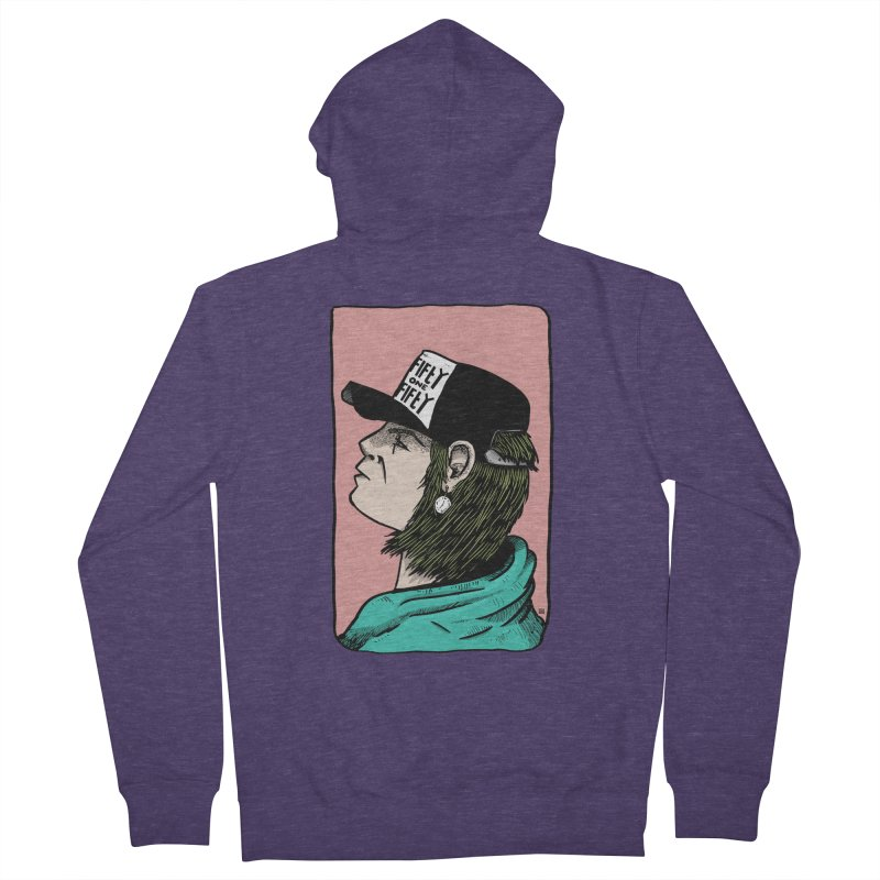 Clock Men's French Terry Zip-Up Hoody by leegrace.com