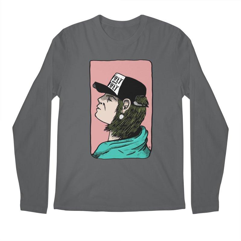 Clock Men's Longsleeve T-Shirt by leegrace.com