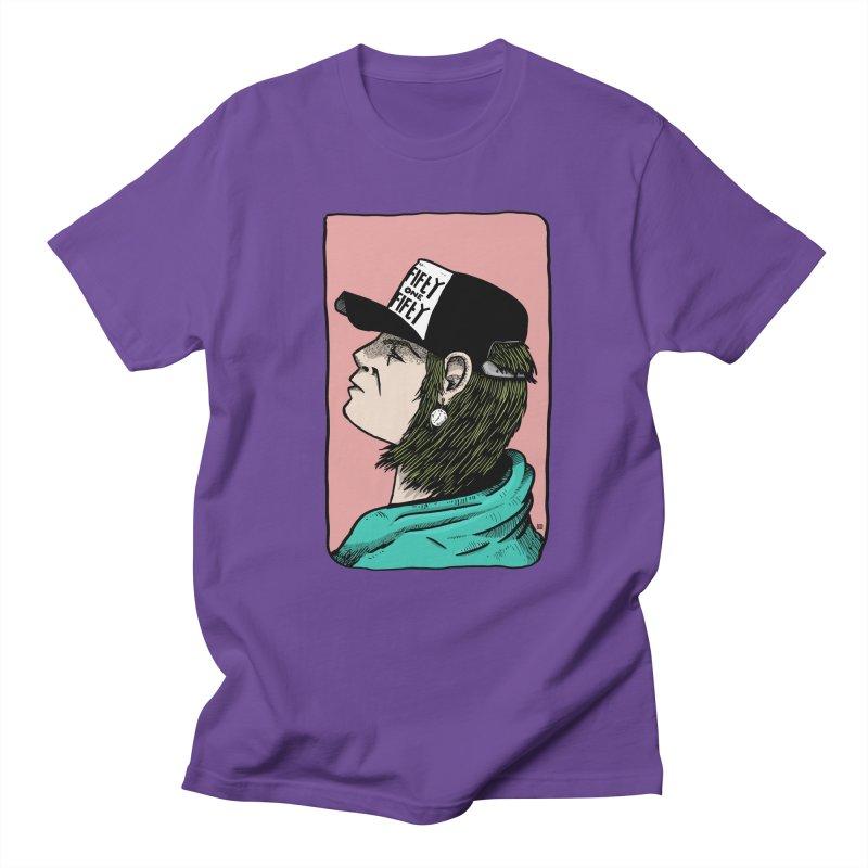 Clock Men's Regular T-Shirt by leegrace.com