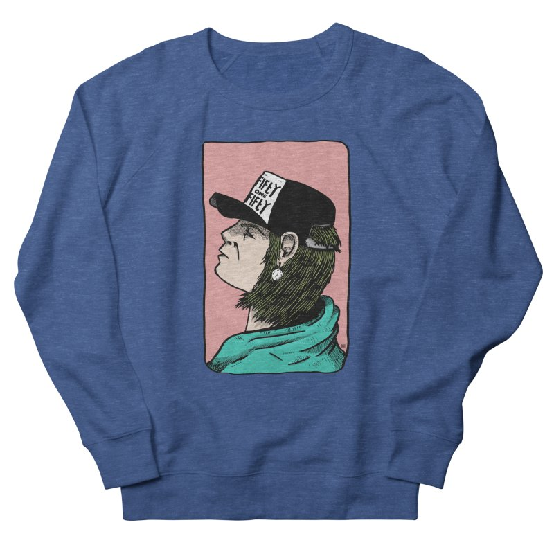 Clock Men's French Terry Sweatshirt by leegrace.com