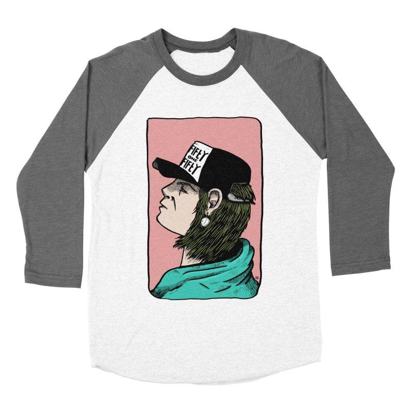 Clock Women's Baseball Triblend Longsleeve T-Shirt by leegrace.com