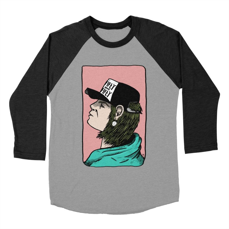 Clock Men's Baseball Triblend Longsleeve T-Shirt by leegrace.com