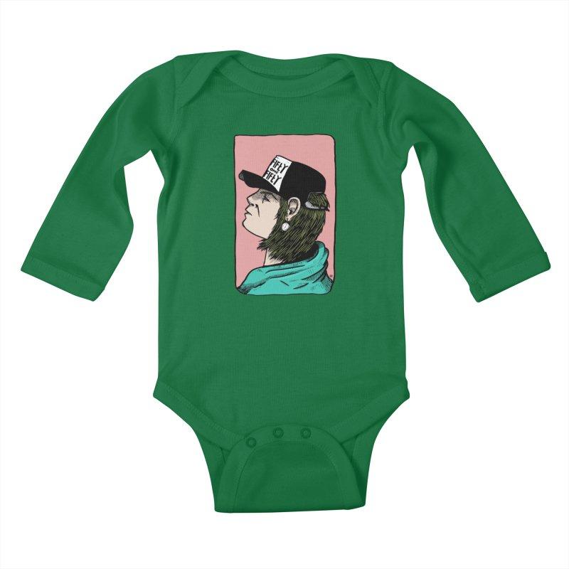 Clock Kids Baby Longsleeve Bodysuit by leegrace.com