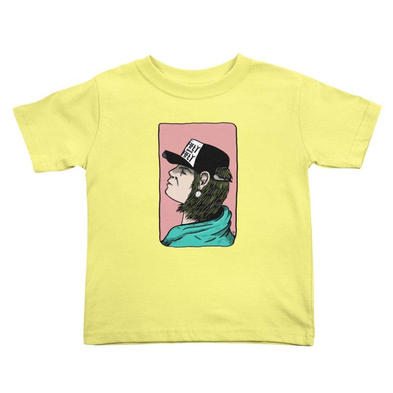 Clock Kids Toddler T-Shirt by leegrace.com