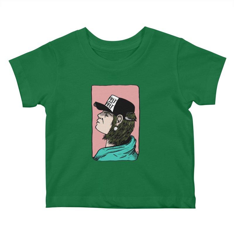 Clock Kids Baby T-Shirt by leegrace.com