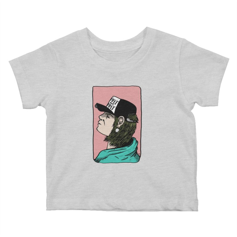 Clock Kids Baby T-Shirt by leegrace.com