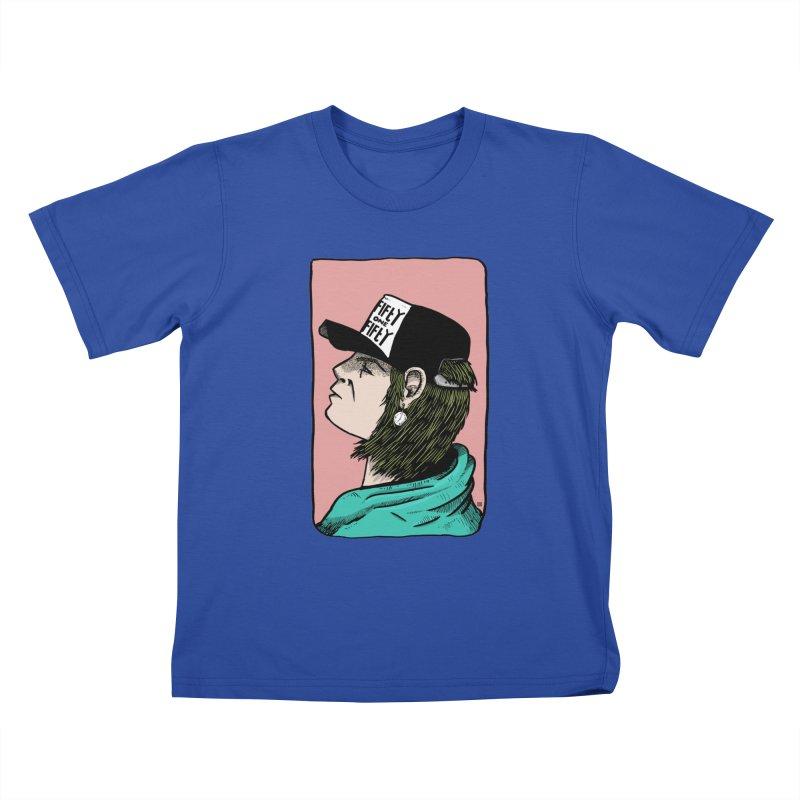 Clock Kids T-Shirt by leegrace.com