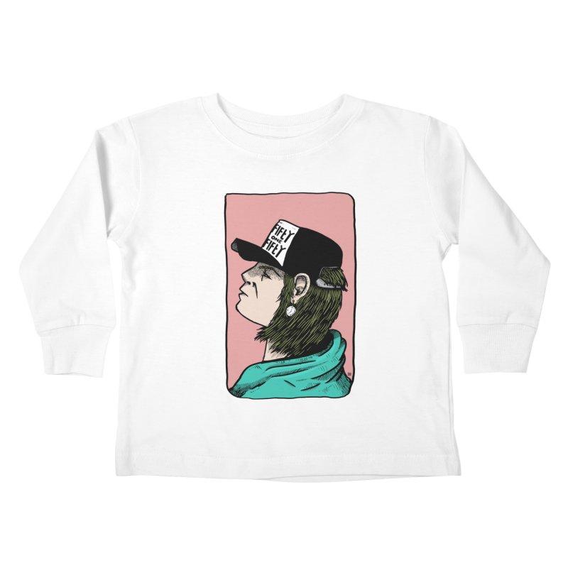 Clock Kids Toddler Longsleeve T-Shirt by leegrace.com