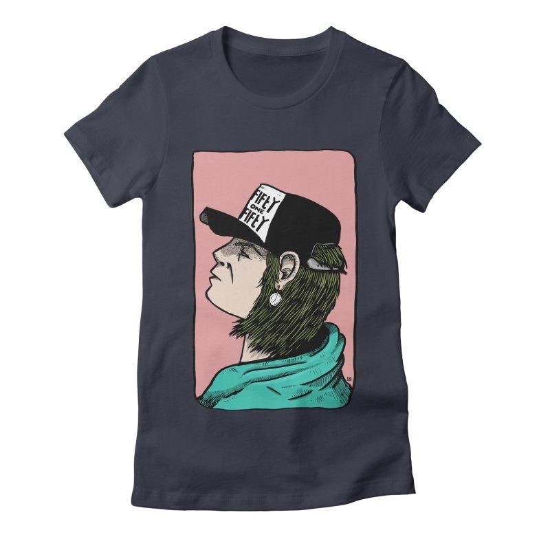 Clock Women's Fitted T-Shirt by leegrace.com