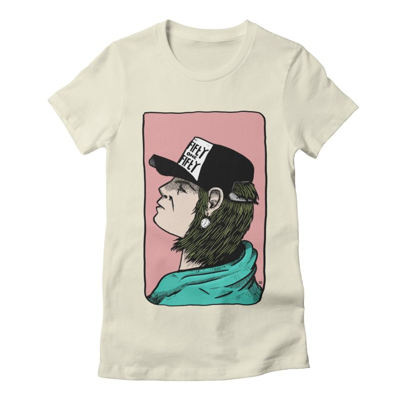 Clock Women's Fitted T-Shirt by leegrace.com