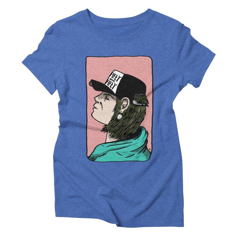 Clock Women's Triblend T-Shirt by leegrace.com