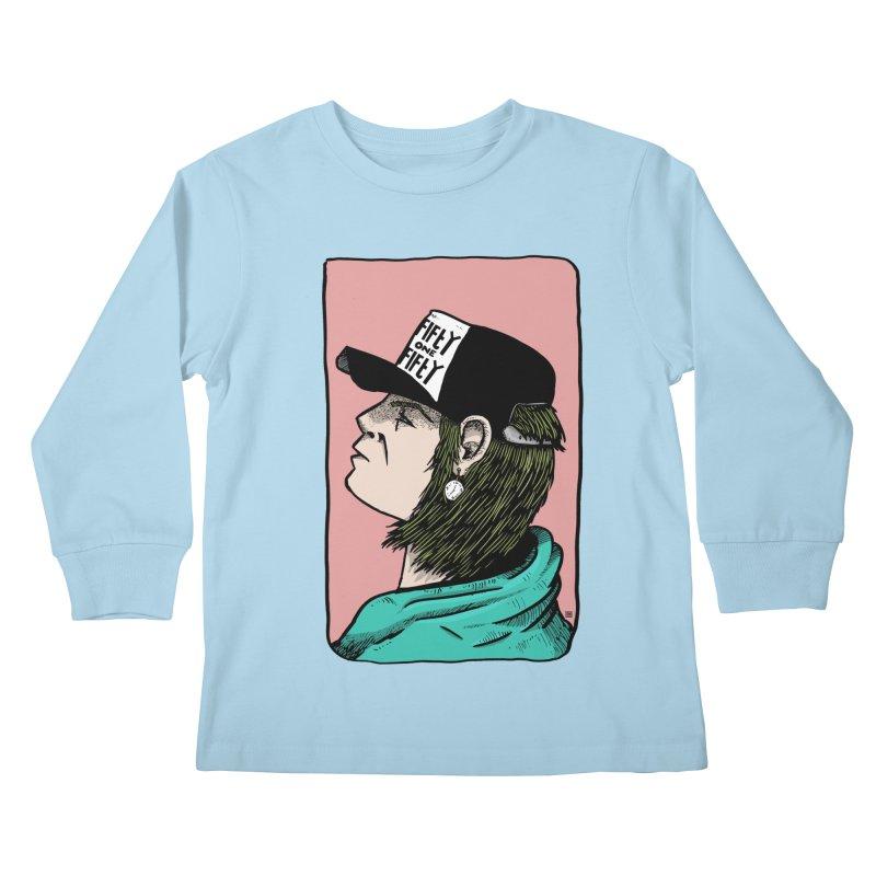 Clock Kids Longsleeve T-Shirt by leegrace.com