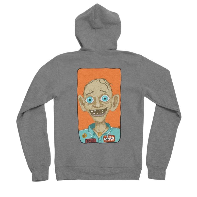 Precious Men's Sponge Fleece Zip-Up Hoody by leegrace.com