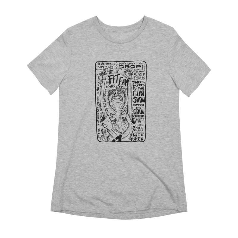 Get on the Gain Train! Women's Extra Soft T-Shirt by leegrace.com