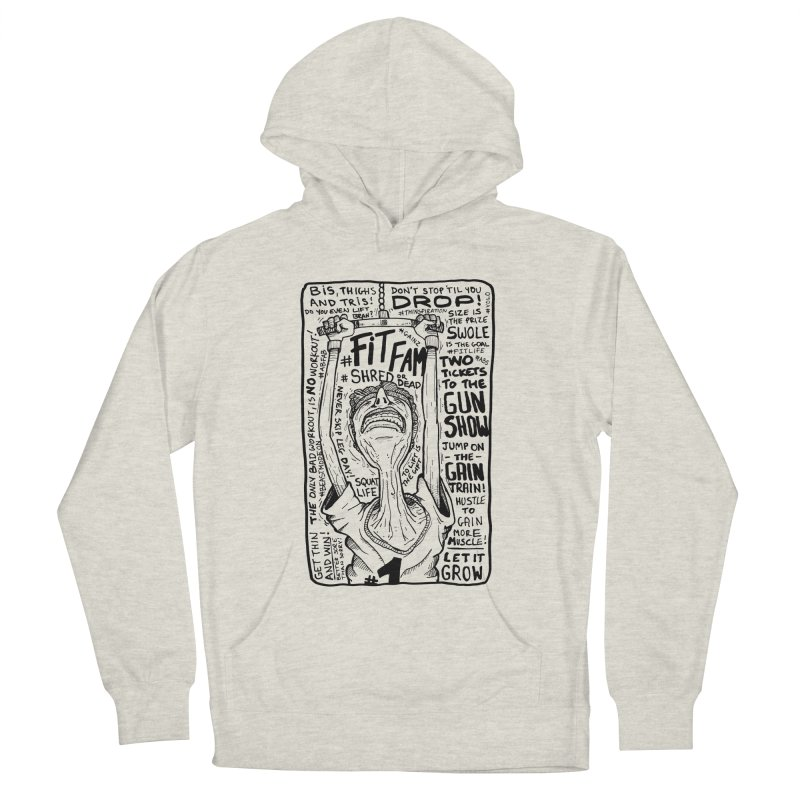 Get on the Gain Train! Men's French Terry Pullover Hoody by leegrace.com