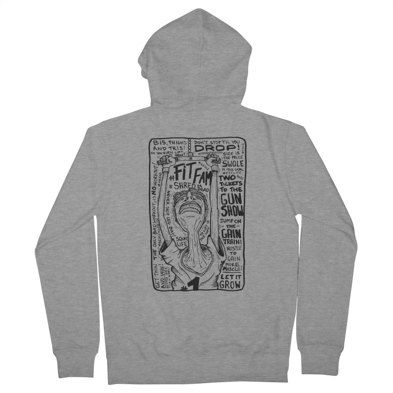 Get on the Gain Train! Women's French Terry Zip-Up Hoody by leegrace.com