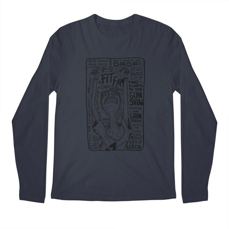 Get on the Gain Train! Men's Regular Longsleeve T-Shirt by leegrace.com