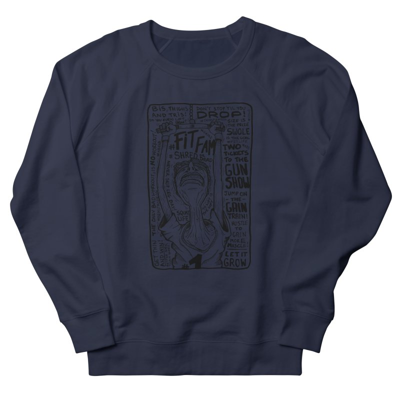 Get on the Gain Train! Men's French Terry Sweatshirt by leegrace.com