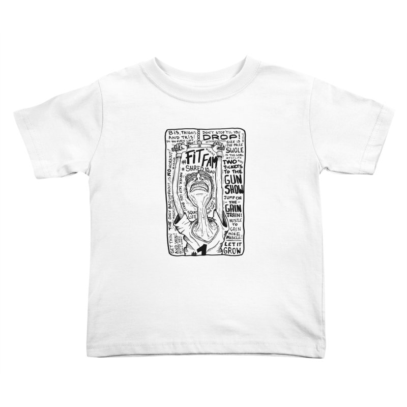 Get on the Gain Train! Kids Toddler T-Shirt by leegrace.com