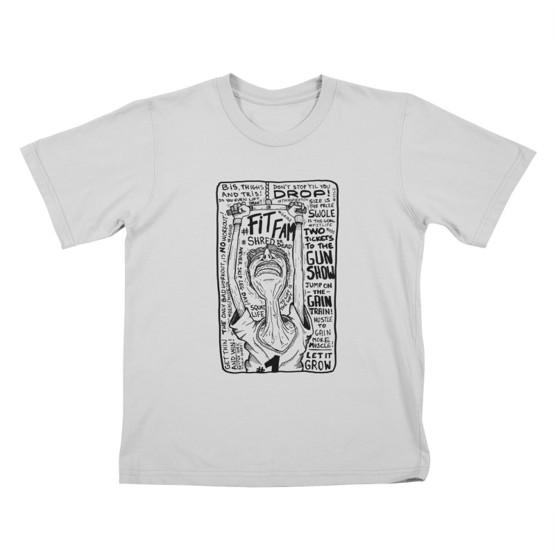 Get on the Gain Train! Kids T-Shirt by leegrace.com