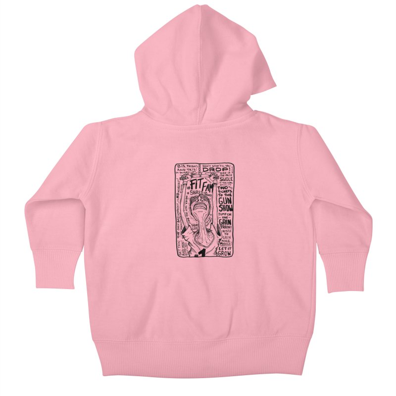 Get on the Gain Train! Kids Baby Zip-Up Hoody by leegrace.com