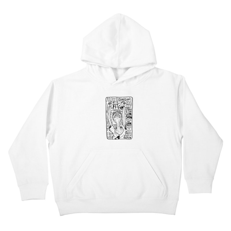 Get on the Gain Train! Kids Pullover Hoody by leegrace.com