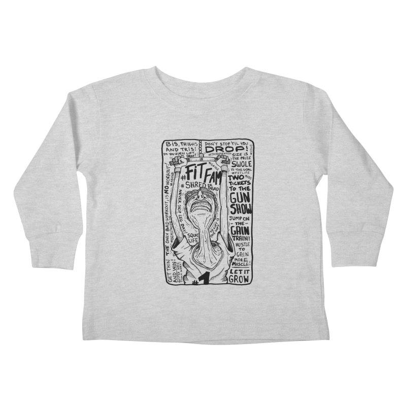 Get on the Gain Train! Kids Toddler Longsleeve T-Shirt by leegrace.com