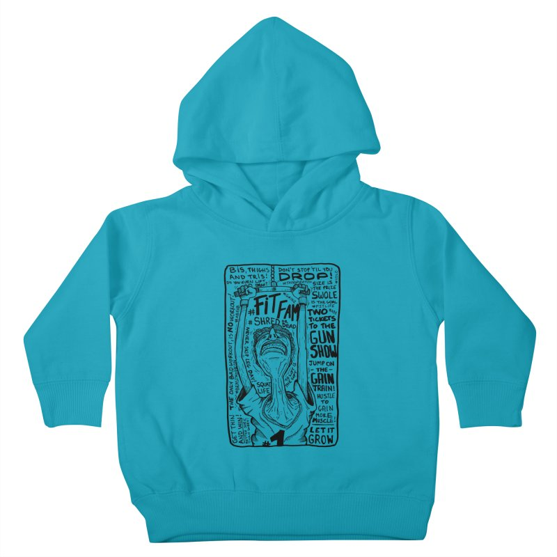 Get on the Gain Train! Kids Toddler Pullover Hoody by leegrace.com