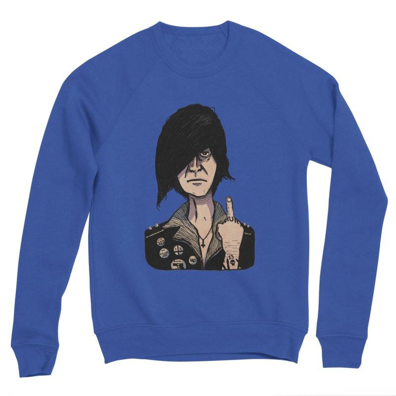 F Off Men's Sponge Fleece Sweatshirt by leegrace.com