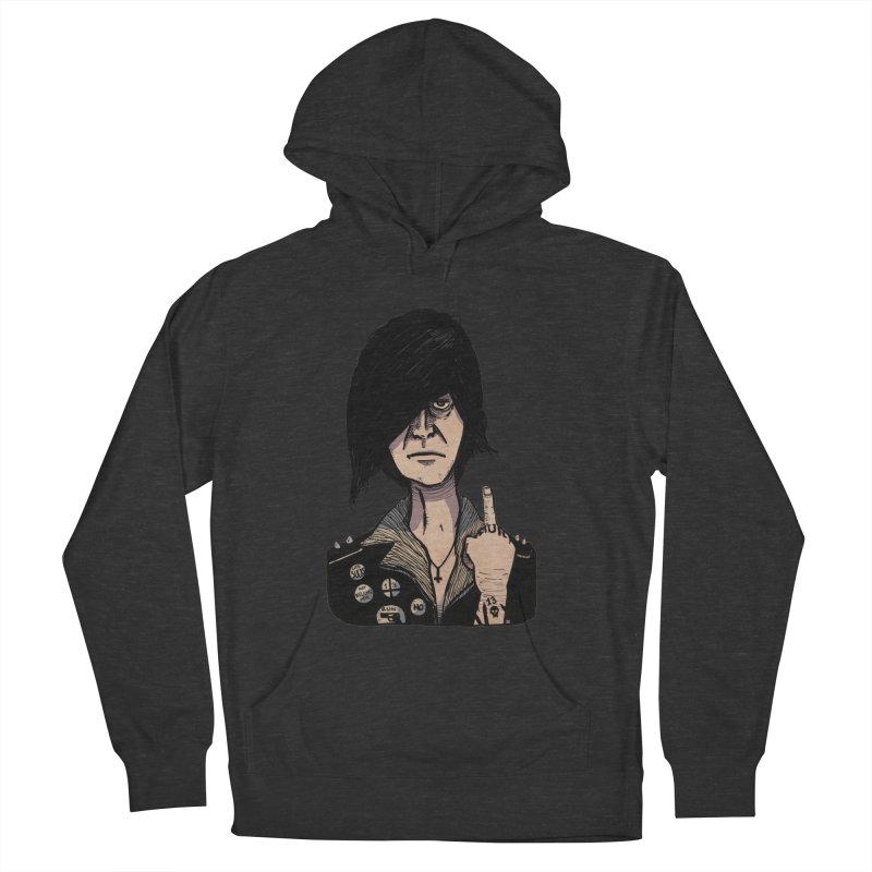 F Off Men's French Terry Pullover Hoody by leegrace.com