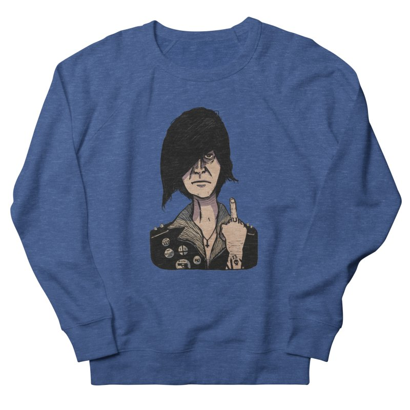 F Off Men's French Terry Sweatshirt by leegrace.com