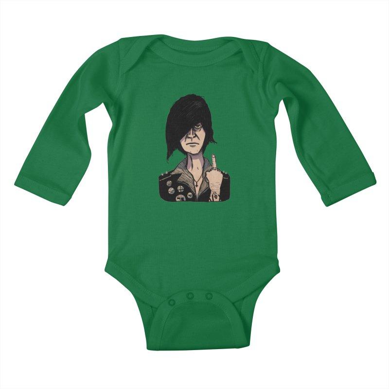 F Off Kids Baby Longsleeve Bodysuit by leegrace.com
