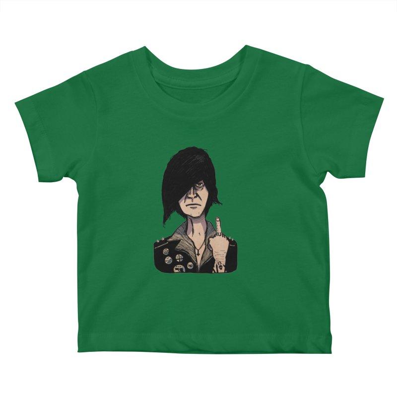 F Off Kids Baby T-Shirt by leegrace.com